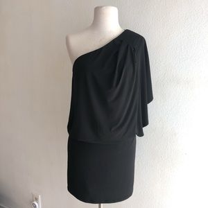 Jessica Simpson Asymmetrical jersey blouson dress